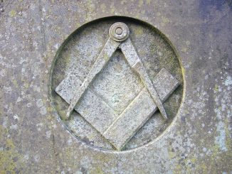Compass and square of Freemasonry