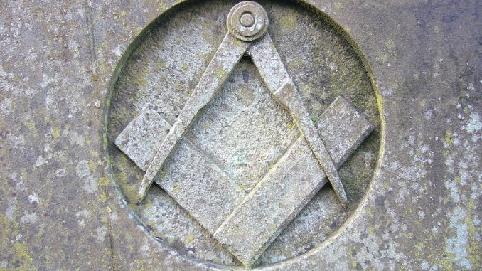 Compass and square of Freemasonry