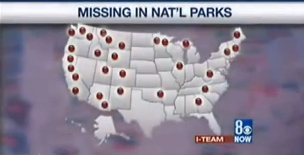 1,400 People Vanish In Clusters At National Parks And Forests ...