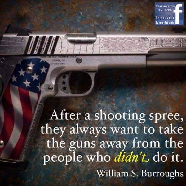 Gun Control Rhetoric, Behind Billy Graham