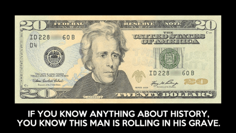 "Andrew Jackson, Who Fought Central Bank, Removed from $20 As ""Public Concern for Liberty"" Erased 