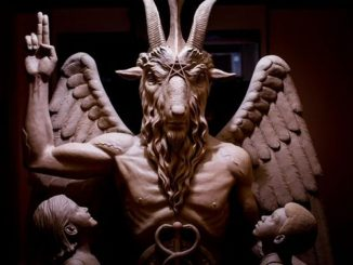 satanic temple Baphomet