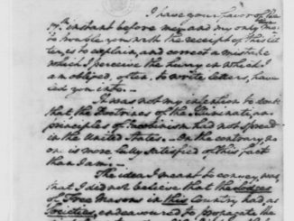 george washington letter to Snyder Oct, 24, 1798