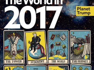 economist uses tarot card illustrations