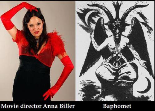 Anna Biller and Baphomet