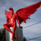 Over 100 Christians Protest Red 'Lucifer' Statue in Greece
