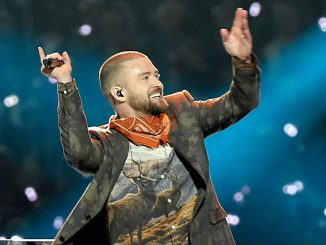 Justin Timberlake performs at Super Bowl 2018
